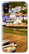 Polperro At Low Tide IPhone Case