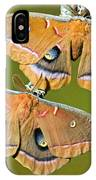 Polyphemus Moths IPhone Case