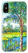 Pond And Palm IPhone Case