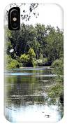 Pond At Tifft Nature Preserve Buffalo New York  IPhone Case