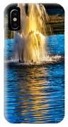 Pond Fountain IPhone Case