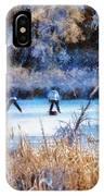 Pond Hockey - Painterly IPhone Case