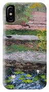 Pond In The English Walled Gardens IPhone Case