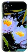 Pond Lily 17 IPhone Case