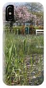 Pond With Reed IPhone Case