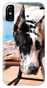 Pondering Poolside IPhone Case