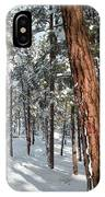 Ponderosa Winter IPhone Case