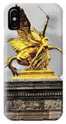 Pont Alexander IIi Fragment In Paris IPhone Case