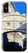 Pont Des Soupirs IPhone Case