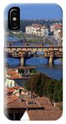 Ponte Vecchio And Arno River IPhone Case