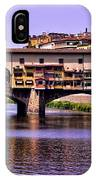 Ponte Vecchio Bridge - Florence IPhone Case
