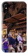 Ponte Vecchio Merchants - Florence IPhone Case