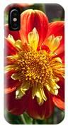 Pooh Dahlia Flower IPhone Case