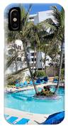 Miami Beach Poolside 03 IPhone Case