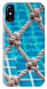 Poolside Robe Fence IPhone Case