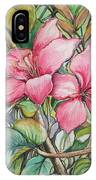 Poor Man's Orchid IPhone Case