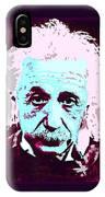 Pop Art Einstein No 3 IPhone Case