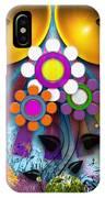 Pop Art Flower IPhone Case