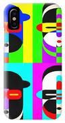 Pop Art People 4 2 IPhone Case