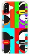Pop Art People Quattro IPhone Case