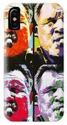 Pop Ditka IPhone Case