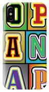 Pop Words IPhone Case