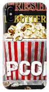 Popcorn Please IPhone Case
