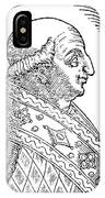 Pope Gregory II (d IPhone Case