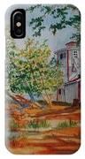 Poplar Point Lighthouse IPhone Case