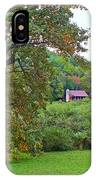 Poplar Tree In The Valley IPhone Case
