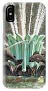 Popp Fountain In City Park New Orleans IPhone Case