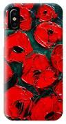 Poppies 3 IPhone Case