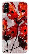Poppies 47 IPhone Case