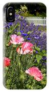Poppies And Lavender IPhone Case
