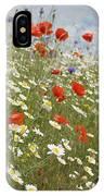 Poppies Et Al Iv IPhone Case