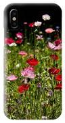 Poppies Gettin Sun IPhone Case