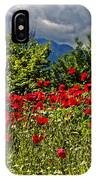Poppies In Remembrance IPhone Case