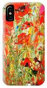Poppies In The Sun IPhone X Case