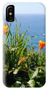 Poppies On The Pacific IPhone Case