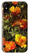 Poppies Will Make Them Sleep IPhone Case