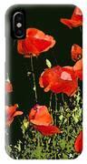 Poppy Art IPhone Case