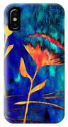 Poppy At Night Abstract 2 IPhone Case
