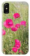 Poppy Blush IPhone Case