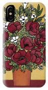 Poppy Bouquet IPhone Case