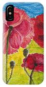 Poppy Family IPhone Case