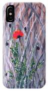 Poppy In The Wild IPhone Case