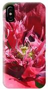 Poppy Pink IPhone Case