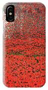 Poppy Tribute Of The Century. IPhone Case