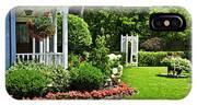 Porch And Garden IPhone Case