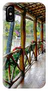Porch Cultural Center Hawaii IPhone Case
